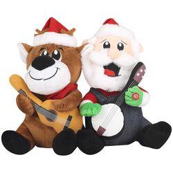 Dueling Banjos-Santa and Reindeer