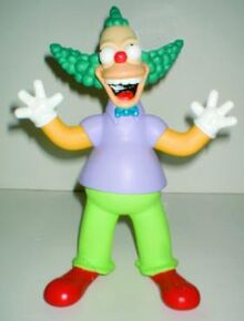 Dashboard Talking and Singing Krusty the Clown