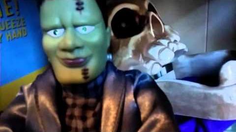 Gemmy Monster Motionette (1996) Rare!