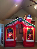 Gemmy inflatable christmas house archway