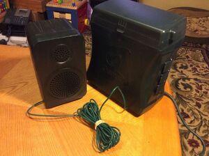Gemmy Holiday Christmas Lightshow Lighting Sound Control Timer +Speaker