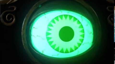 Creepy Animated Halloween Eyeball Doorbell