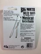 Big Mouth Keychain (Back)