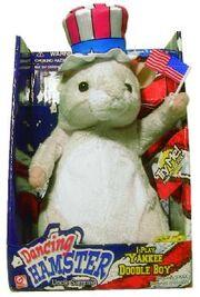 Singing Yankee Doodle Boy Hamster