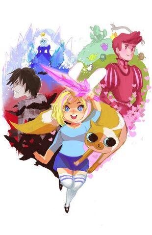 File:Adventure time by chupachup-d3hnxsi.jpg