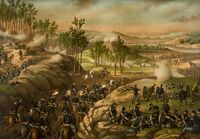 Battle of Resaca 1864 c1889
