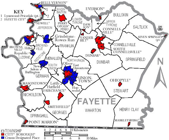 Fayette County, Pennsylvania | Familypedia | Fandom
