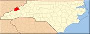 North Carolina Map Highlighting Madison County.PNG