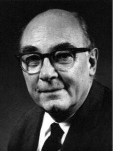 Carl David Anderson (1905-1991) elder portrait