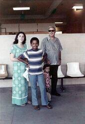 Obama with Gramps Ann Maya 1975