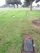 Eva Ariel Lattin Winblad cemetery plot south