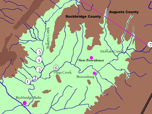 Walkers Creek Property Map