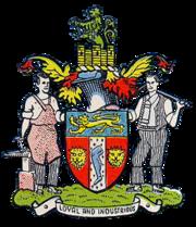 Rowley Regis Municipal Borough Coat of Arms