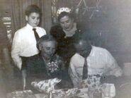 Eva Douse 75 Birthday (Michael DeFalcon Kate Walsh Eva & Peter II)