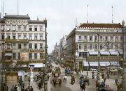Berlin Unter den Linden Victoria Hotel um 1900