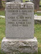 Curlhair-Nora tombstone