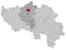 Herstal Liège Belgium Map