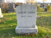 Robert Ensko tombstone
