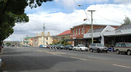 Campbell Town main road