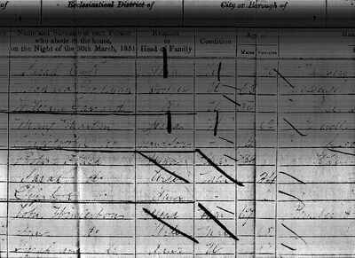 Southminster1851census
