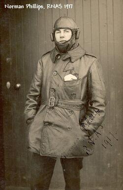 Phillips, Norman RNAS 1917