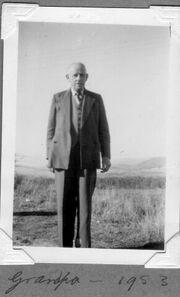 Arthur Ambrose Marks (1881 - 1963) in 1953
