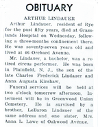 Lindauer-ArthurOscar 1944 obituary