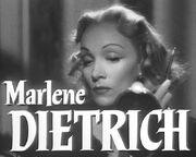 Marlene Dietrich in Stage Fright trailer