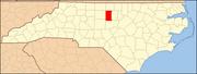 North Carolina Map Highlighting Alamance County.PNG