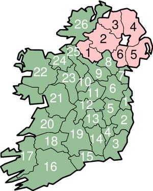 IrelandNumbered