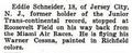 Eddie August Schneider (1911-1940) in Popular Aviation in April 1931.png