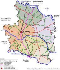 BijapurDistrict Map 2006