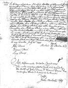 Richard Stockton's 1775 will