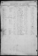 Olsen-Osborne 1883 birth register
