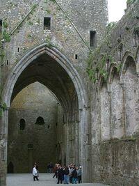 Rock of Cashel-castle interior