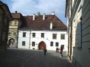 Matei Corvin house Cluj-Napoca