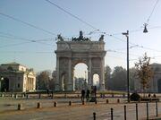 Arco della pace 2011