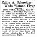 Schneider Hahnen 1934 marriage AssociatedPress.png