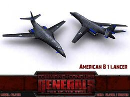 American B1 Lancer