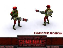 China Pyro Techician