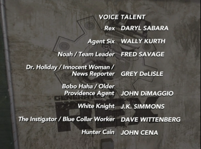 The Hunter credits