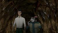 Rex and Bobo underground