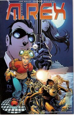 M.rex 1st issue cover