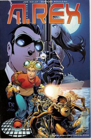 File:M.rex 1st issue cover.jpg