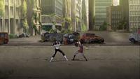 Circe fights Rex