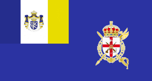 File:Flag of the Royal Honorary Guard of Genovia.png