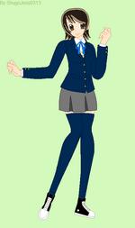 Akira Kazami with a blazer