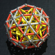 Truncated icosahedron d