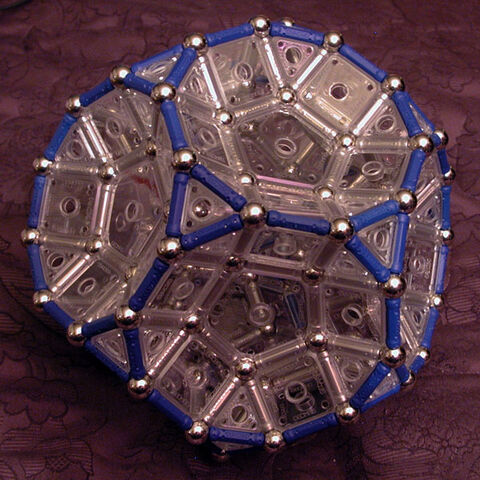 File:Truncated Dodecahedron (Left View) .jpg