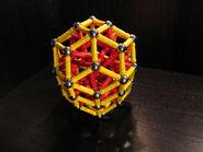 Elongated rhombic triacontahedron b